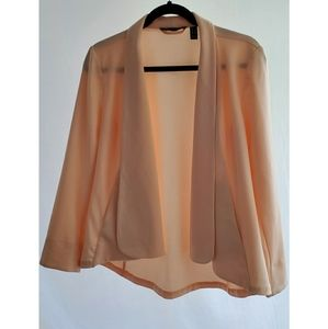 H by Halston Long Sleeve Front Blazer, size 4
